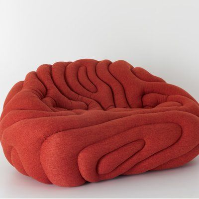 GLADIS Love Seat - Designer Seating objects by Aqua Creations ✓ Comprehensive product & design information ✓ Catalogs ➜ Get inspired now Pouf Design, Chair Design, Fabric Design, Cool Furniture, Furniture Design, Unusual Furniture, Futuristic Furniture, Furniture Deals, Plywood Furniture