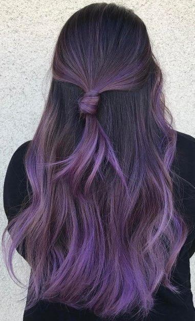 Purple Hair Dark Purple Hair Light Purple Hair Ombre Purple Hair