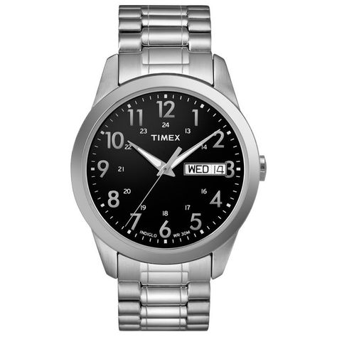 618a798fa5a0 Timex Men s T2M932 Elevated Classics Expansion Bracelet Watch ...