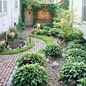 46 Top Choices Landscaping Ideas For Creating Your Own Beautiful Garden 46 Small Backyard Design Backyard Garden Layout Backyard Layout
