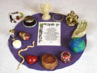 Lord's Prayer in Symbols