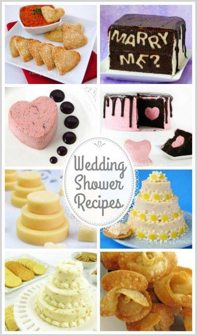 White Cheese Wedding Cakes Appetizer For Bridal Showers Or