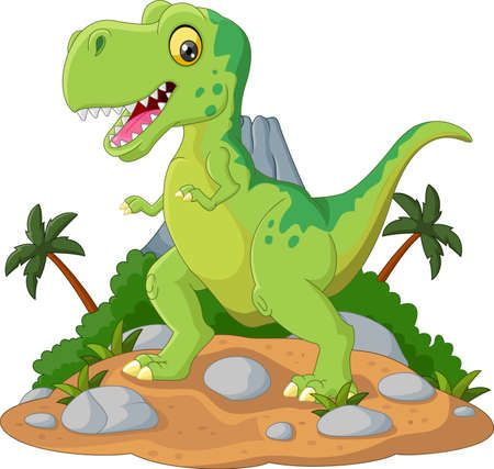 Historieta Linda De La Historieta Tiranosaurio Imagenes De Dinosaurios Animados Imagenes De Dinosaurios Infantiles Dinosaurios Para Niños