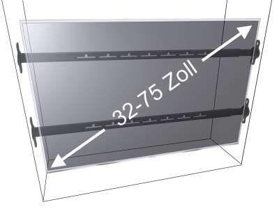 Durch Die Vesa Kompatibilitat Garantieren Die Meisten Boden Decken Und Boden Wand Tv Saulenhalterungen Halterung Tv Halterung Schwenkbar