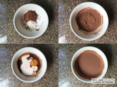 Pastelitos De Chocolate Y Harina De Coco Receta Sin Gluten Receta Harina De Coco Pastel De Chocolate Recetas Con Harina De Coco