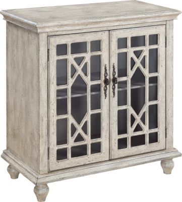 Accent Cabinets - Chests with Doors & Drawers