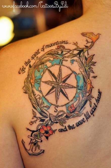 Travel tattoo sleeve heart 23 Super ideas #travel #tattoo