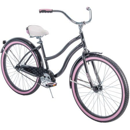 Huffy 26 Cranbrook Women S Cruiser Bike With Perfect Fit Frame Walmart Com Cruiser Bike Cruiser Bicycle City Bicycles