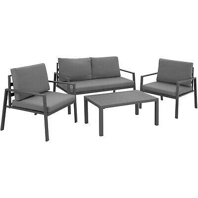 Aluminium Sitzgruppe Garten Garnitur Sofa Sessel Tisch Set Balkon Lounge Mobel Ebay In 2020 Garden Sofa Set Garden Furniture Sets Garden Dining Set
