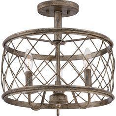 Quoizel Rdy1714 Semi Flush Lighting Semi Flush Ceiling Lights