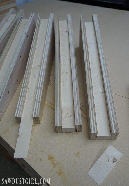 Building Garage Shelves Cantilevered Shelf Brackets Building
