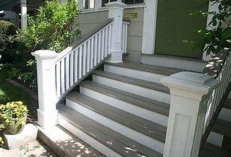 Image Result For Menards Exterior Porch Trim Front Porch Steps Exterior Stairs Front Porch Stairs