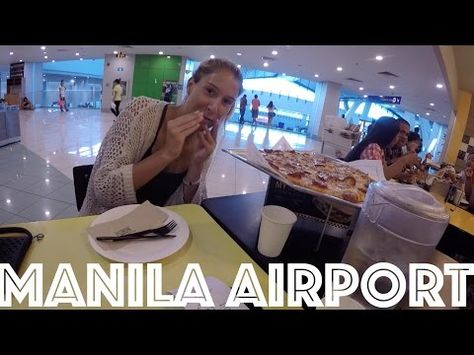 Layover in the Manila Airport