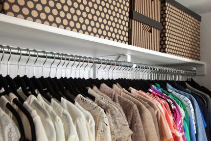 Boxwood Clippings Em S Closet With Images Closet Makeover