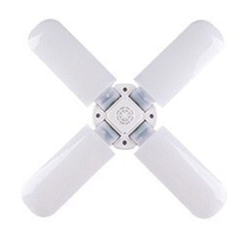 Best Screw Fan Blade Angle Adjustable Deformation Ceiling Lamp Led Garage Light Bulb Restaurant Lighting L In 2020 Led Garage Lights Ceiling Lights Restaurant Lighting