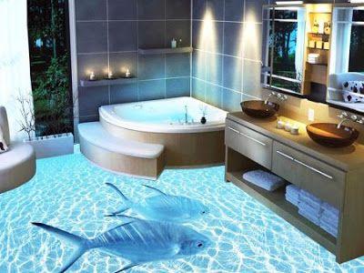 Best 3d Bathroom Floor Tile Design Ideas For Modern Home Flooring 2019 Bathroom Flooring Epoxy Floor Designs Epoxy Floor