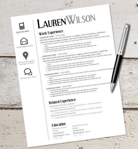 The best resume format always have acquired first place for an - popular resume format