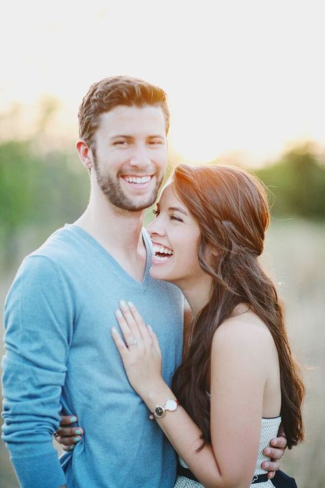 Rustic Waterfront Engagement