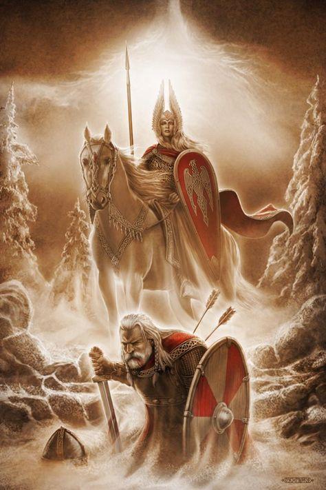 kapitel2  wikinger kunst nordische mythologie fantasy kunst