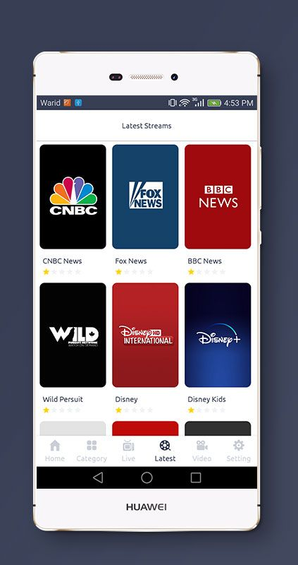 Streaming4u Live Tv And Streaming App With Admin Panel Live Tv Streaming Tv App