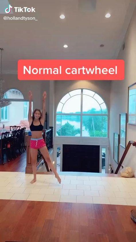 Cartwheel splits