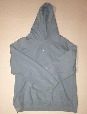 Sponsored Ebay Vintage 90s Nike Center Swoosh Hoodie Sweatshirt Travis Scott Rare Blue Women Hoodies Sweatshirts Hoodie Vintage Sweatshirt