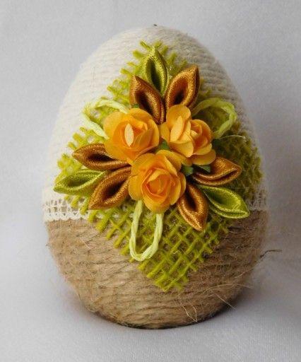 Pisanka Do Koszyczka Ozdoby Wielkanocne Rekodzielo 7838382139 Oficjalne Archiwum Allegro Easter Egg Decorating Easter Basket Diy Easter Crafts