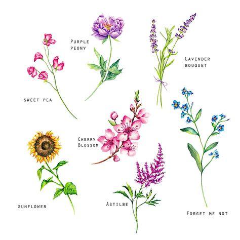 ✔ Tattoo Flower Peony Cherry Blossoms #tattoostudio #tattoodo #tattoo2me