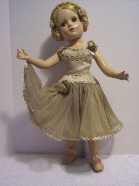 "18"" Madame Alexander ""Karen"" Ballerina Doll"