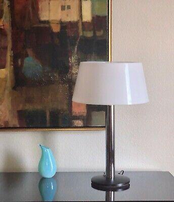 Click Now Vintage Lightolier Table Lamp Gerard Thurston Chrome Plastic Mid Century 60 S Lamp Table Lamp Lightolier