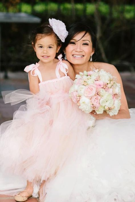 Blush Flower Girl Tutu Dress by littledreamersinc on Etsy, $60.00  In navy...