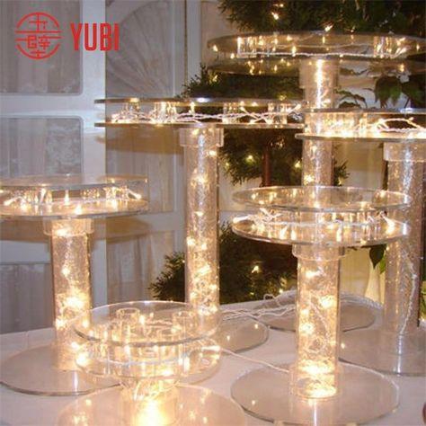 Source led lighted acrylic cupcake stand on m.alibaba.com