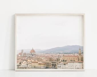 Florence Wall Art Florence Italy Photography Travel Art Print Travel Large Wall Art Europe Photo Florence Wall Art Travel Art Print Large Wall Art
