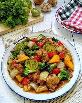 Tuna Crispy Brokoli Asam Manis Resep Masakan Resep Tuna Masakan Simpel