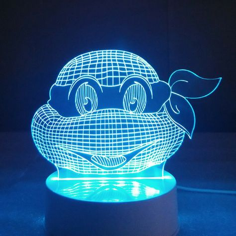 Ninja Turtles 3d Led Light Mood Lamps Night Lamps Lamp