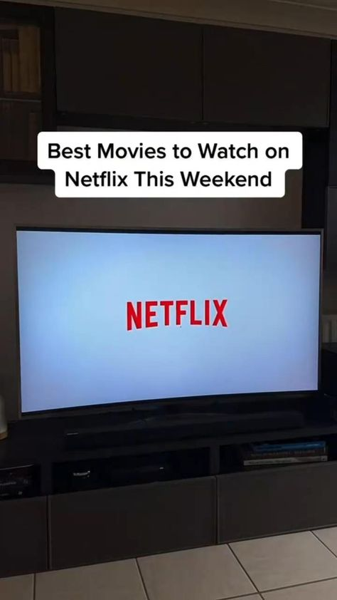 Best Movies to watch this weekend on Netflix🖥