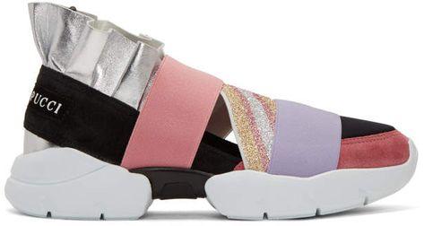 Emilio on Pucci Up' 'city sneakersMetallisch Slip jq34R5AL