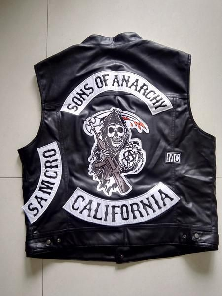 Ultimate Sons Of Anarchy Leather Jacket Check It Here Https Estuffs Net Collections Apparel Sons Of Anarchy Sons Of Anarchy Vest Leather Vest