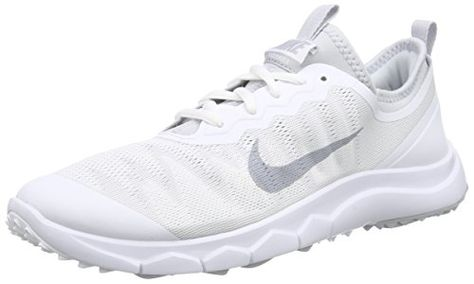 65f4008d2e40 Nike FI Bermuda Golf Shoes 2016 Ladies WhiteWolf Grey Medium 95 -- Click  image to review more details.