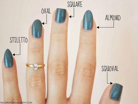 36 amazing manicure hacks you should know - nails - . 36 amazing manicure hacks you should know – nails – # Manicure Hacks Nail Art Designs, Short Nail Designs, Acrylic Nail Designs, Different Nail Shapes, Nail Tip Shapes, Nail Shapes Squoval, Types Of Nails Shapes, Manicure Y Pedicure, Manicure At Home