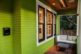Lime Green Houses Painted Exteriors Google Search House Paint