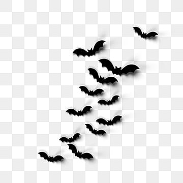 Black Halloween Bat Element Pattern Black Halloween Bat Png And Vector With Transparent Background For Free Download In 2020 Black Halloween Black And White Abstract Halloween Poster
