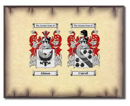 Superb Coat Of Arms / Family Crest Anniversary Bond | $19.95 | Image Via House Of  Names
