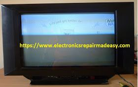 Electronics Repair Made Easy Sanyo 21 Inch Crt Television Model Cm21ms22 No Audio Messed Up Color And Visible White Lines Across Th Sanyo Repair Television