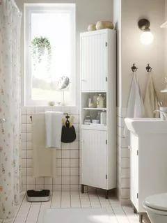 37 Alluring Bathroom Cabinet Ideas A Guide For Bathroom Storage Diy Bathvanities Small Bathroom Design Small Small White Bathrooms Small Bathroom Remodel