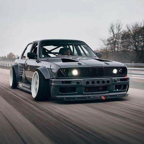 BMW E30 3 series grey widebody stance - #30s #BMW #E30 #grey #series #stance - #30s #BMW #E30 #Grey #Series #stance #widebody