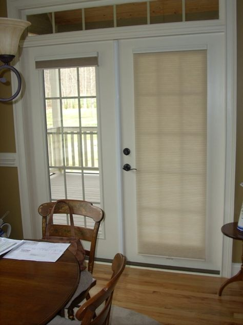 french doors covering tierd shades - Decoist | For the Home | Pinterest | French door curtains Doors and Door curtains & french doors covering tierd shades - Decoist | For the Home ... Pezcame.Com