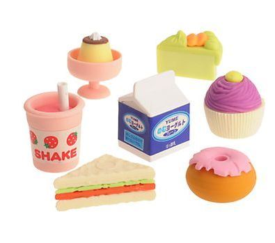 japanese food erasers food eraser pinterest american girls squishies and dolls