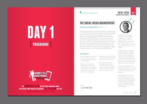 Conference Program Booklet Template Registration Program For