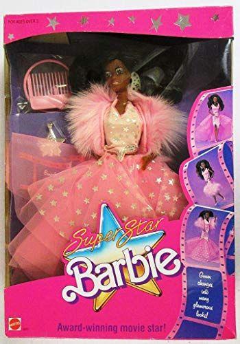 Super Star Barbie 1988 - African American Barbie | Barbie, I'm a ...